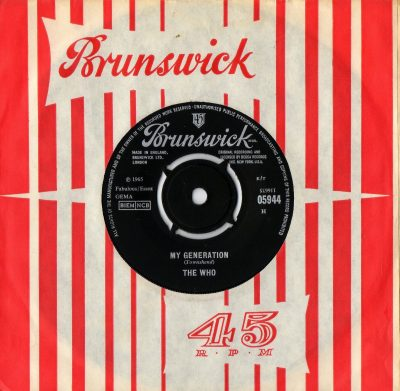 Who - My Generation - brunswick