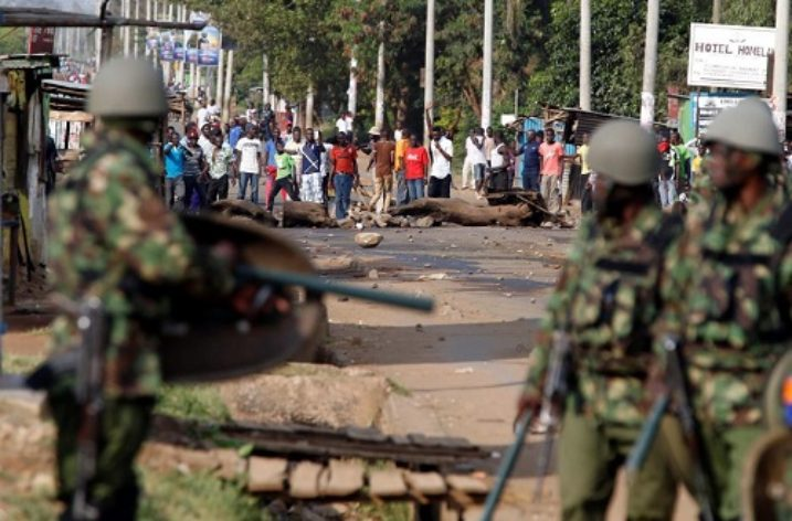 Police killings and attacks amid election chaos in Kenya