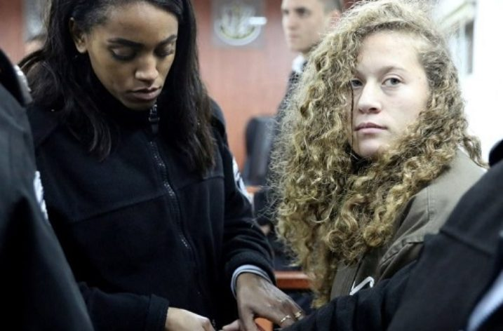 Israel should release 16-year-old Palestinian activist Ahed Tamimi