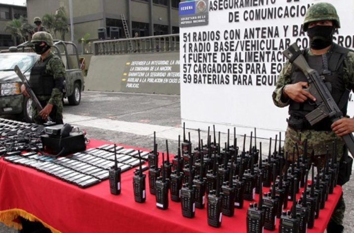 Drug Cartels' Encrypted Communications