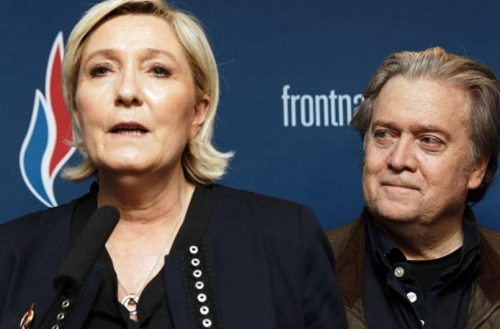 Steve Bannon hates foreigners, but supports foreign-born racists