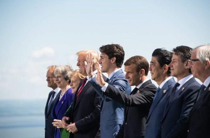 G7 Summit (or is it G6 + 1 or G7 – 1+)