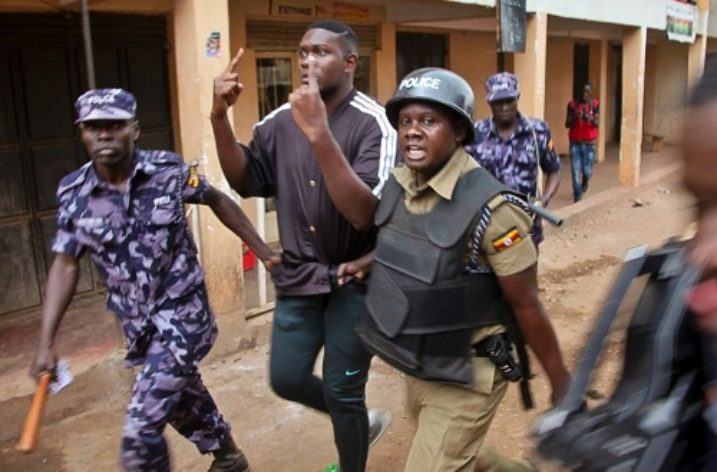 Riots in Uganda protesting arrest and torture of lawmakers