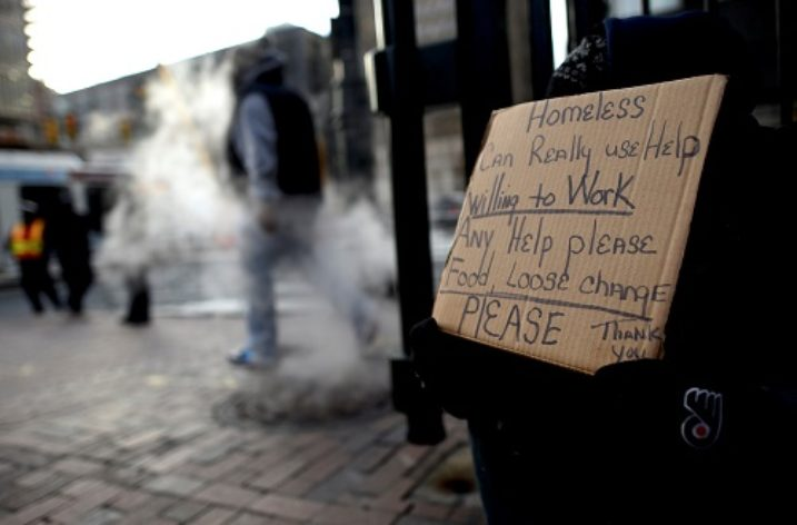 Begging for Jobs Not Money: NYC Homelessness on the Rise