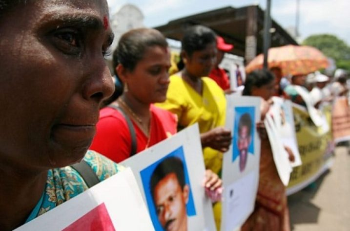 Enforced and Involuntary Disappearances in Sri Lanka