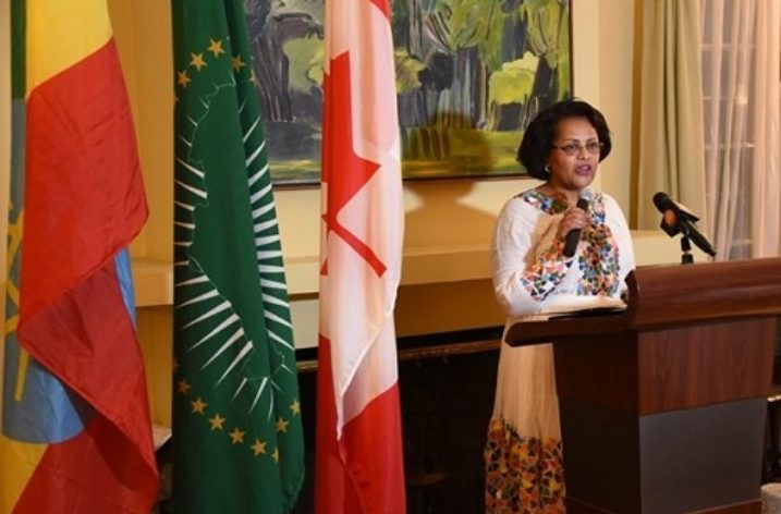 A woman with a double success story: Ambassador Birtukan Ayano