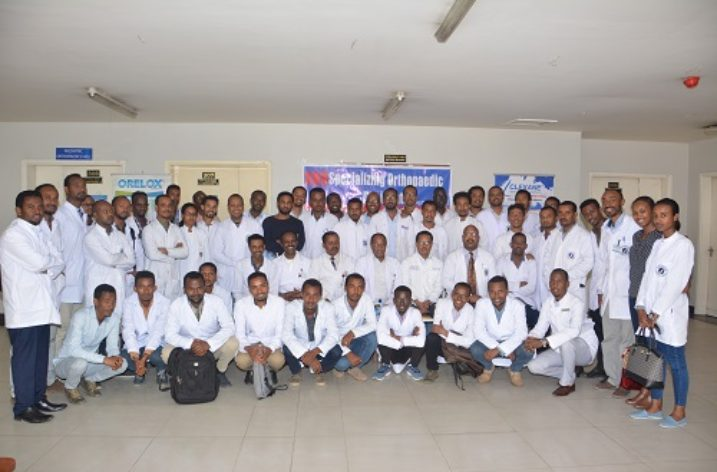 Ethiopia scaling new heights in Orthopaedics, training neighbors