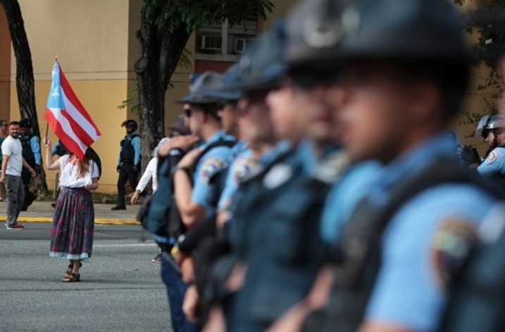 Puerto Rico's High Security Warning